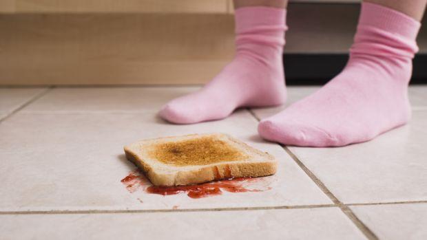 Faz mal comer o que acabou de cair no chão?